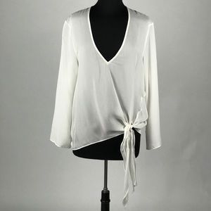 NWT Are You Am I Jonquil Tie Top